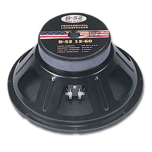 "B-52 12"" Bass Speakers"