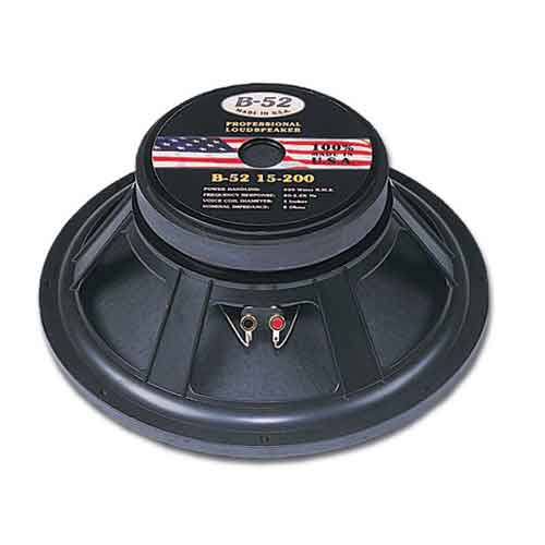 "15"" B-52 Subwoofer Speakers"