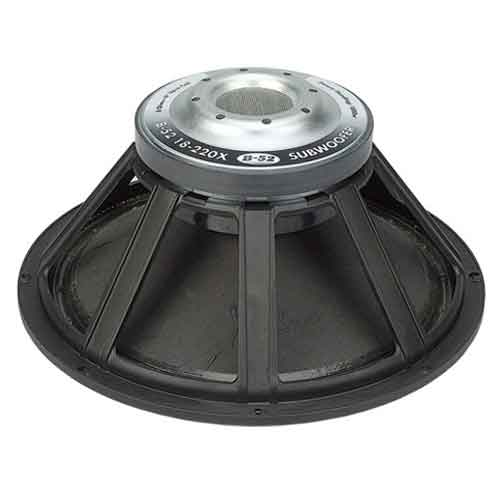 "B-52 18"" Subwoofer Speakers"