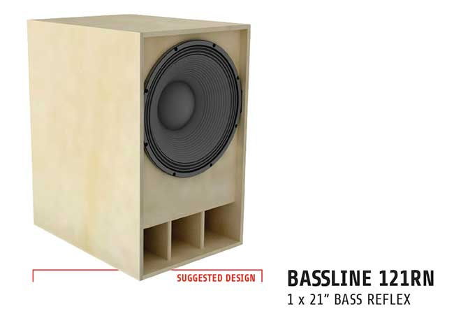 LaVoce bass cab plans 121RN