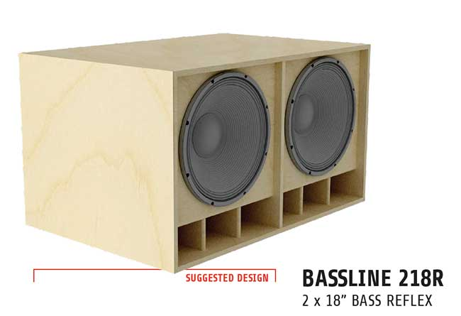 LaVoce bass cab plans 218R